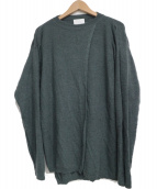 UNITED ARROWS & SONS(ユナイテッドアローズアンドサンズ)の古着「GUERNSEY KNIT」 グレー