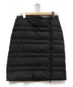 THE NORTH FACE(ザノースフェイス)の古着「光電子ダウンスカート」|ブラック