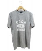COMME des GARCONS HOMME(コムデギャルソンオム)の古着「Tシャツ」|グレー