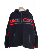 Supreme(シュプリーム)の古着「Polartec Half Zip Hooded Sweat」|ネイビー