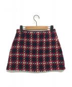 MIU MIU(ミュウミュウ)の古着「ツイードミニスカート」