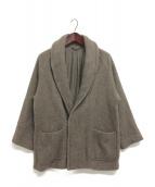 COMOLI(コモリ)の古着「ヤクウールショートコート」|ブラウン