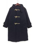 COMOLI(コモリ)の古着「中綿ウールダッフルコート」|ネイビー