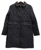 Paul Stuart(ポールスチュアート)の古着「キルティングコート」|ネイビー