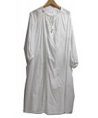 kagure(カグレ)の古着「コットン刺繍ワンピース」|ホワイト