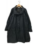 ISSEY MIYAKE(イッセイミヤケ)の古着「コート」 ネイビー