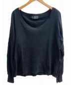 Ys(ワイズ)の古着「長袖カットソー」|ブラック