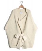 charrita(チャリータ)の古着「ケープ風ニット」 ホワイト