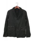 COMME des GARCONS HOMME(コムデギャルソンオム)の古着「裏ボア3Bジャケット」 ブラック