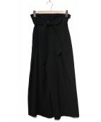1er Arrondissement(プルミエ アロンディスモン)の古着「ワイドパンツ」|ブラック