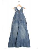 SLOBE IENA(スローブ イエナ)の古着「LE DENIMボリュームフレアジャンパースカート」