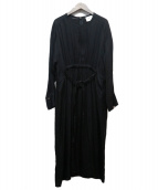 1er Arrondissement(プルミエ アロンディスモン)の古着「トリアセキュプラワンピース」|ブラック