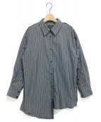 UNITED TOKYO(ユナイテッドトウキョウ)の古着「URUSHIビッグシャツ」|ネイビー