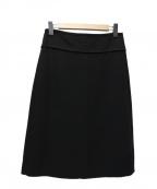 S Max Mara(エスマックスマーラ)の古着「スカート」 ブラック