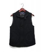 COMME des GARCONS HOMME(コムデギャルソンオム)の古着「12AW 中綿ベスト」|ブラック