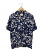 pataloha(パタロハ)の古着「アロハシャツ」|ネイビー
