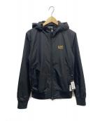 EA7(イーエーセブン)の古着「ボンバージャケット」|ブラック