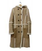 Ron Herman(ロンハーマン)の古着「リアルムートンコート」|ベージュ
