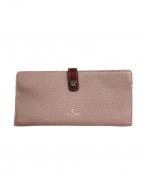 PELLE BORSA(ペレボルサ)の古着「長財布」 ラベンダー
