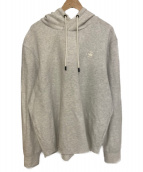 G-STAR RAW(ジースターロウ)の古着「CALOW ZIP HOODED SW L/S」|グレー