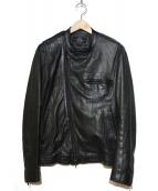 Thee Hysteric XXX(ジィ ヒステリック トリプルエックス)の古着「ライダースジャケット」|ブラック