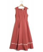 LEBECCA boutique(レベッカ ブティック)の古着「あの日のローズとワンピース」|ピンク