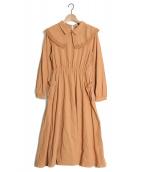 LEBECCA boutique(レベッカ ブティック)の古着「出会いを届けるワンピース」|キャメル