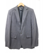 ANN DEMEULEMEESTER(アンドゥムルメステール)の古着「テーラードジャケット」|チャコールグレー