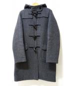 LONDON Tradition(ロンドントラディション)の古着「スリムロングダッフルコート」|グレー