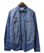 eYe COMME des GARCONS JUNYAWATANABE MAN(アイコムデギャルソンジュンヤワタナベマン)の古着「シャンブレーシャツ」