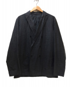 COMOLI(コモリ)の古着「ダブルシャツジャケット」|グレー