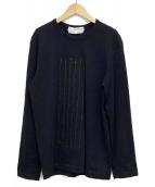COMME des GARCONS SHIRT(コムデギャルソンシャツ)の古着「ウールニット」|ブラック