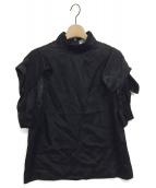 AKIRA NAKA(アキラ ナカ)の古着「ブラウス」|ブラック