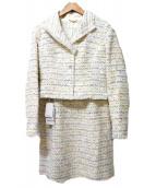 ELISA(エリザ)の古着「ファンシーモールセットアップスーツ」|オフホワイト