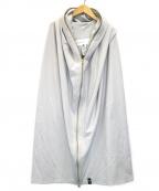 DOUBLE STANDARD CLOTHING(ダブルスタンダードクロージング)の古着「MA-1 DUAL WARM オーバージャケット」 グレー