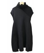 BALENCIAGA(バレンシアガ)の古着「ニットワンピース」|ブラック