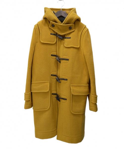 LONDON Tradition(ロンドントラディション)LONDON Tradition (ロンドントラディション) ロングダッフルコート マスタード サイズ:36 英国製の古着・服飾アイテム