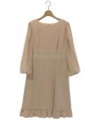 TOCCA(トッカ)の古着「IRIS BEAUTYドレス」|ピンク