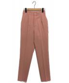 Ameri VINTAGE(アメリビンテージ)の古着「CLASSIC TAPERED PANTS」|ピンク