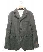 Adam et Rope(アダムエロペ)の古着「HYBRID TWEEDジャケット」|グレー