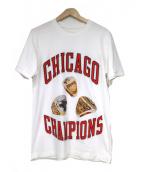 IH NOM UH NIT(インノミネイト)の古着「Chicago Rings Tee」|ホワイト