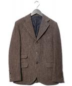 Salvatore Piccolo(サルヴァトーレピッコロ)の古着「ツイード3Bジャケット」 ブラウン