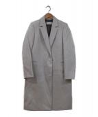DES PRES(デ・プレ)の古着「チェスターコート」|ライトグレー