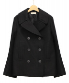 BALENCIAGA(バレンシアガ)の古着「ウールPコート」|ブラック