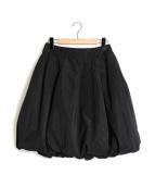 Rene(ルネ)の古着「バルーンスカート」|ブラック