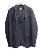 BOSS HUGO BOSS(ボスヒューゴボス)の古着「3Bジャケット」 ブラック