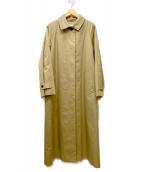 IENA(イエナ)の古着「ハイカウントギャバステンカラーコート」|ベージュ