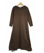 Hoochie Coochie(フーチークーチー)の古着「Scarf docking Dress」|ブラウン