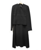 YUKI TORII(ユキトリイ)の古着「セットアップスーツ」|ブラック