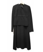 YUKI TORII(ユキ トリイ)の古着「セットアップスーツ」|ブラック